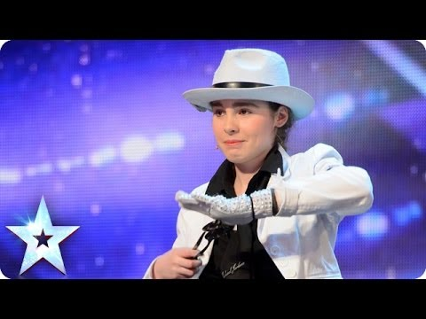 Michael - See more from Britain's Got Talent at http://itv.com/talent Brig Og Le Spun-On serves up a Michael Jackson's Smooth Criminal on the spoons.Will she make it a...