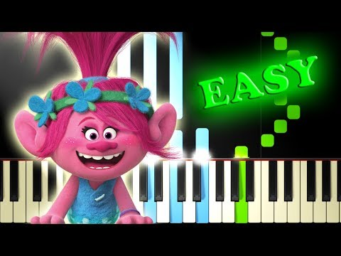 Video JUSTIN TIMBERLAKE - CAN'T STOP THE FEELING from TROLLS - Easy Piano Tutorial download in MP3, 3GP, MP4, WEBM, AVI, FLV January 2017