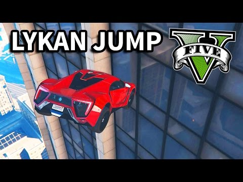 GTA V - Fast and Furious 7 Lykan Jump Scene