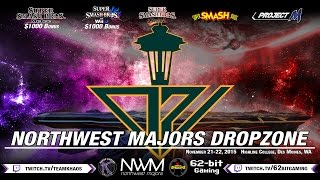 "Northwest Majors: Dropzone Trailer released! November 21-22, in Seattle, WA. The TO said ""Lets make an APEX size event in the north west featuring ALL Smash games!"""