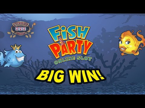 BIG WIN on Fish Party Slot - £4.80 Bet!