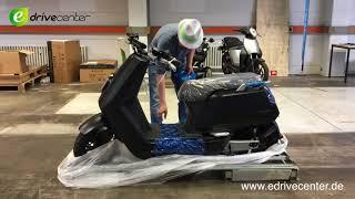 Video NIU N1S 10000000 KM Unboxing, Auspacken, Aufbau, Test, E-Scooter, E-Bike, Elektroroller MP3, 3GP, MP4, WEBM, AVI, FLV Juli 2019