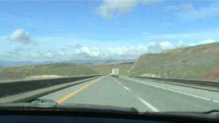 Battle Mountain (NV) United States  city images : Elko West - I-80 Nevada Drivelapse