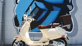 7. 2014 Vespa LX150 IE scooter for sale ... Only 80 miles!