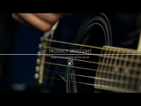 Product Spotlight – Ibanez V70CE Acoustic-Electric Guitar