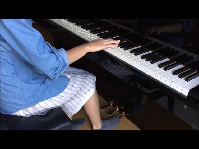 ピアノのペダル~踏んだ状態のとき