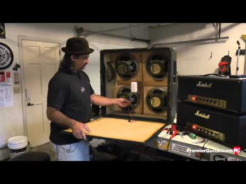 DIY: How To Install Speakers in a 4x12 Cab, Part 2