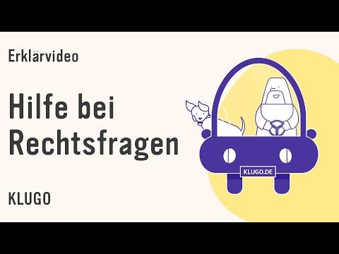 Erklärfilm – Eurem Recht auf der Spur! Bei Rechtsfragen hilft KLUGO mit einer Erstberatung!