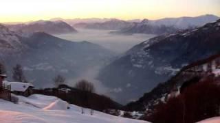 Tramonto all'Alpe Ortighera
