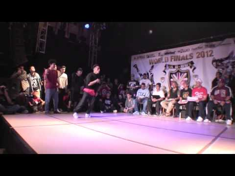 Niek - UK B-Boy Championships 2012 Knock Out Jam Hill (Mexico) vs NIEK (Netherlands)