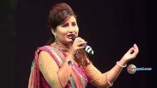 Anju Panta - Tirkha Lagyo Pani Khaye - Live Performance at Hong Kong