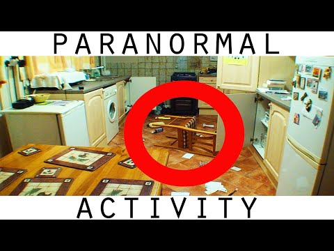 violent real poltergeist activity caught on video tape!