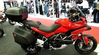 6. 2014 Ducati Multistrada 1200S Granturismo Walkaround - 2014 Montreal Motorcycle Show