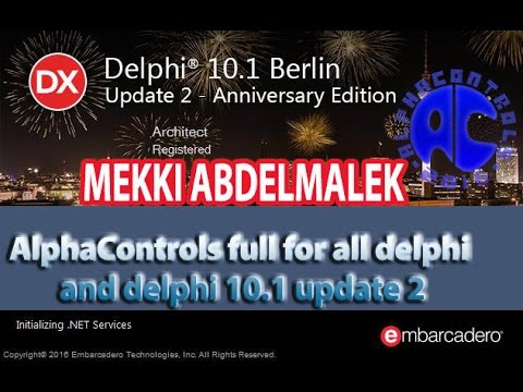 تحميل تثبيت - Download install AlphaControls.v.11.1 full for ALL delphi and 10.1 update 2