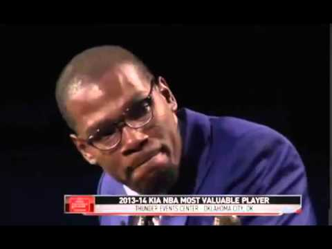 ▶ Kevin Durant MVP Press Conference FULL SPEECH 2014   YouTube 360p