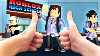 Real Life Roblox - GOING TO REAL LIFE ROBLOX HIGH SCHOOL!