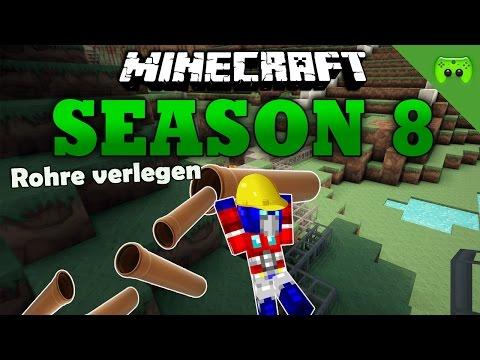 ROHRE VERLEGEN «» Minecraft Season 8 # 93 | HD