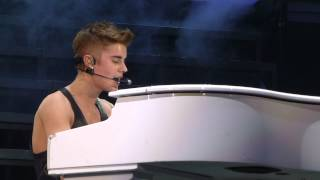 1 5 2013 Justin Bieber As Long as You Love Me And Believe Salt Lake City
