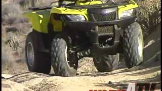 9. ATV Television Test - 2005 Suzuki King Quad 700