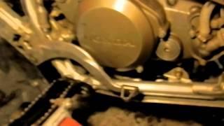 9. 2006 Honda TRX 450ER motor and transmission oil change