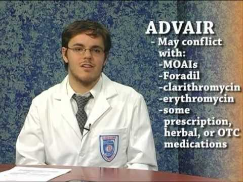 Advair Diskus (fluticasone/salmeterol) : Know Your Drug