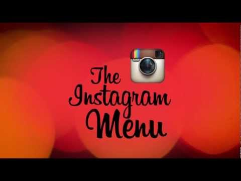 Instagram Menu #Comodo Restaurant