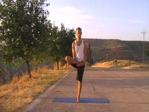 yoga serie de equilibrios yoga