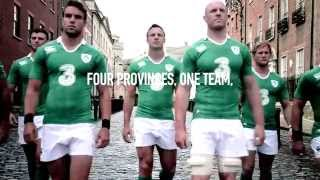 Video Of The New Ireland Rugby Kit
