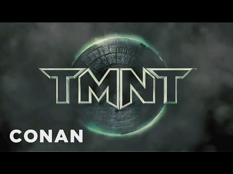 Conan - Clip From Michael Bay's TMNT