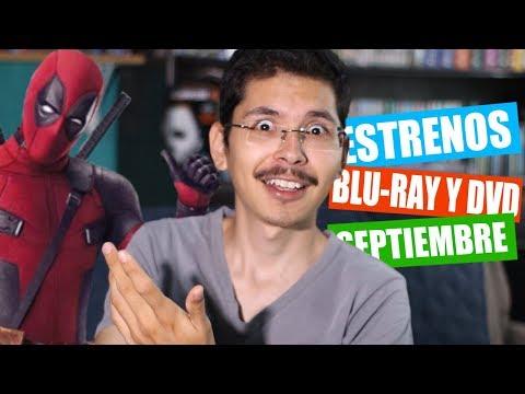 ESTRENOS EN BLU-RAY Y DVD (SEPTIEMBRE 2018)