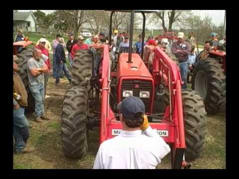 Massey Ferguson Tractors - Missouri Auction