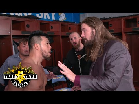 Hideo Itami goes ballistic following loss to NXT Champion Bobby Roode: Exclusive, May 20, 2017