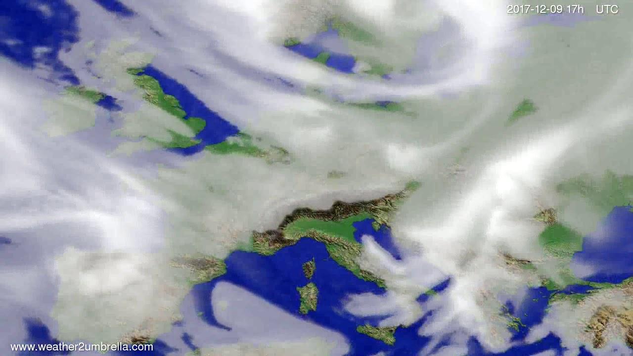 Cloud forecast Europe 2017-12-07
