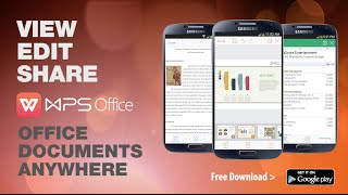 WPS Office + PDF YouTube video