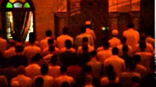 صلاة  التراويح رمضان 2015   مسجد بلحطاب بوسعادة
