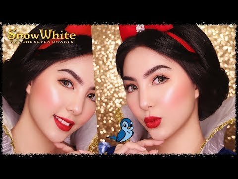 Princess Snow White Makeup Tutorial 🍎