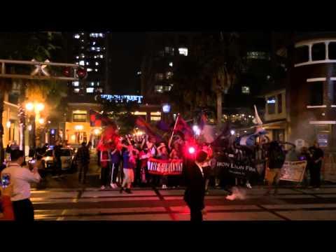 Video - Orlando City supporters march to MLS announcement! #ruckus #ironlionfirm #spacecoastalliance #MLS21 - The Ruckus - Orlando City - Estados Unidos