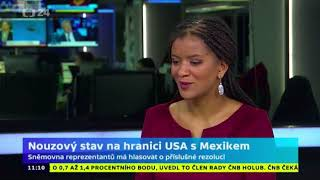 Nouzový stav na hranici USA s Mexikem