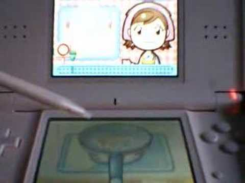 Cooking Mama On DS Lite