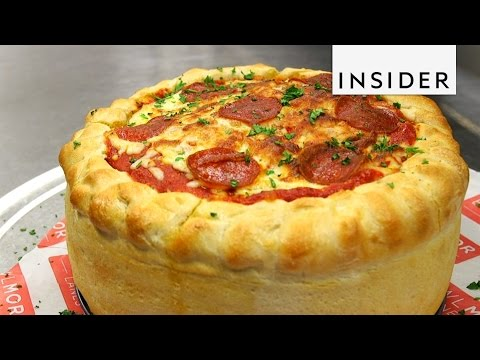 Pizza Cake and Other Giant Foods
