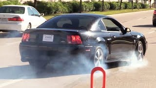 Coffee and Cars was NUTS with the BURNOUTS - November 2018 by High Tech Corvette
