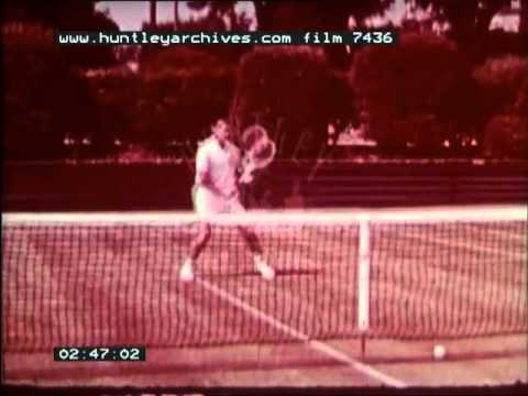 How to play tennis, 1960's — Film 7436
