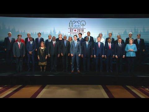 Fiasko nach G7- Treffen: Trump hinterlässt einen Sche ...