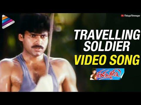 Video Pawan Kalyan Thammudu Songs | Travelling Soldier Song | Ramana Gogula download in MP3, 3GP, MP4, WEBM, AVI, FLV January 2017
