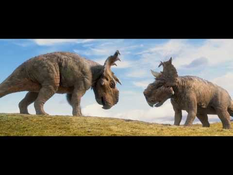 Walking with Dinosaurs Clip 'Head-Butting'