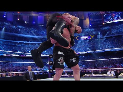 wwe wrestlemania xxx - brock lesnar vs the undertaker