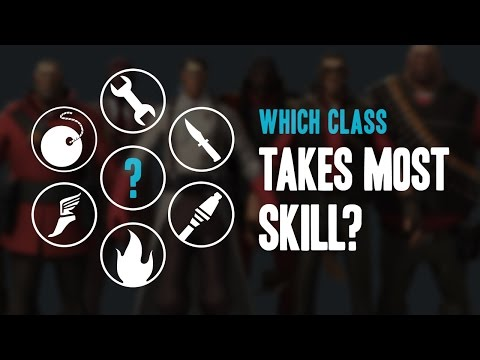 TF2 - Which Class Takes Most Skill?