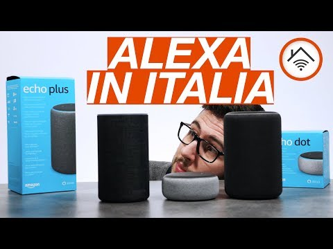 AMAZON ECHO e ALEXA in Italia: prezzi e differenze
