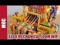 Lego Mechanical Loom Machine