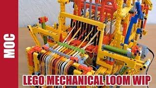 Lego Technic - Mechanical Loom Machine